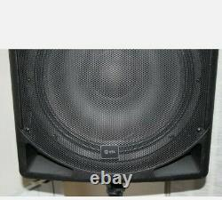 QTX Sound QS15A 15 1400W Active Powered Disco DJ PA ABS Speakers PAIR