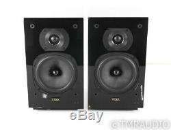 Quad 12L Powered Bookshelf Speakers Black Pair 12-L Active Monitors
