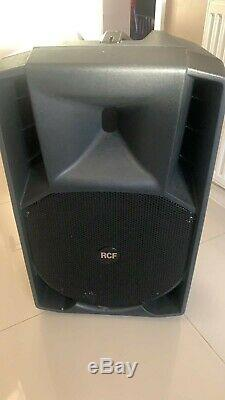 RCF 715A 715-A MK4 ACTIVE Powered PA Speaker, EACH HAVE A PAIR AVAILABLE