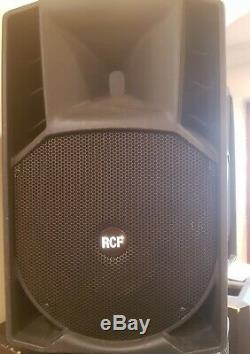 RCF ART 715A 715-A ACTIVE Powered PA Speaker, Pair