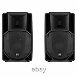 RCF Art 710a Powered/Active Speakers (Pair) With bespoke Covers