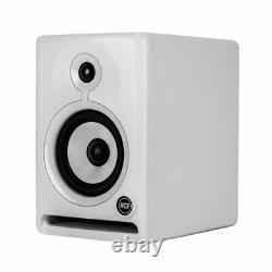 RCF Ayra 5 White Active Powered Studio DJ monitors Pair BSTK