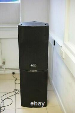RCF TT22a 750w Powered speakers (pair)