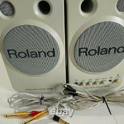 ROLAND MA-8 Stereo Micro Monitor Speakers Active Powered Studio Pair