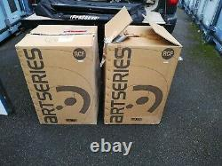 Rcf Art312a Loudspeakers Pair Unmarked In Boxes. Active Powered Pa Live Sound