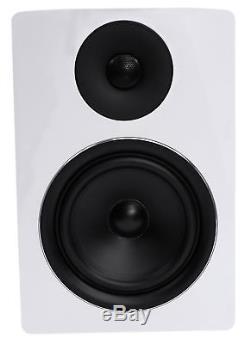 Rockville APM6W 6.5 2-Way 350W Active/Powered USB Studio Monitor Speakers Pair