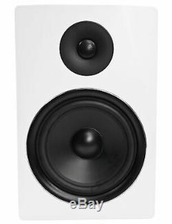 Rockville APM8W 8 2-Way 500W Active/Powered USB Studio Monitor Speakers Pair