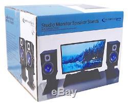 Rockville ASM5 5 200W Active/Powered USB Studio Monitor Speakers Pair