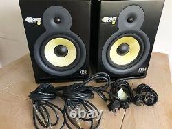 Rokit Krk Professional Active Powered 8 DJ Studio Monitor Speakers (Pair)