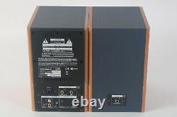 Roland Edirol MA-15D Powered Studio Speakers Pairs Brown Audio Grade B