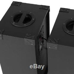 SPB 10 Pair Powered Bluetooth Disco Party Speakers with USB MP3 600W