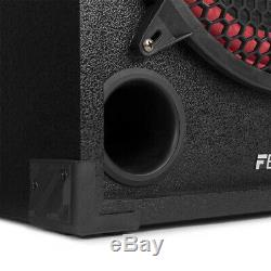SPB Powered 10 USB SD Bluetooth DJ Party Active Passive Speaker Pair 600W