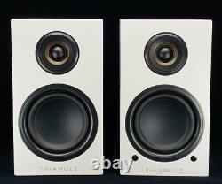 Triangle Bookshelf Speakers Elara LN01A Active Powered Wireless White Pair