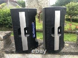 Turbosound Milan M15 Active Powered 15 Speakers PA Pair