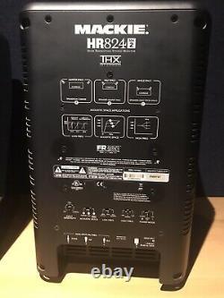 Used Mackie Powered Studio Monitors (Pair) HR 824 MK2