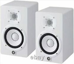 YAMAHA HS5W Powered Studio Monitor Speaker pair -White from Japan