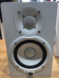 YAMAHA HS5 POWERED STUDIO MONITOR PAIR (X2 Speakers)(White) Mint