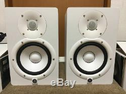 YAMAHA HS7W Powered Active Studio Monitor Speaker White Pair