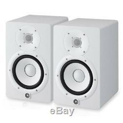 YAMAHA HS7W Powered Active Studio Monitor Speaker White Pair NEW