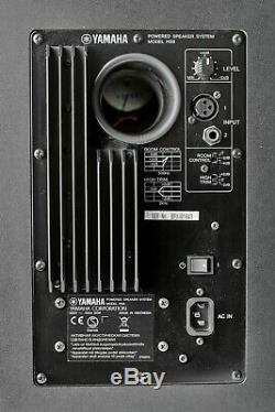 YAMAHA HS8 ACTIVE POWERED STUDIO MONITORS BLACK (pair)