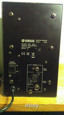YAMAHA MSP3 powered monitor speakers pair