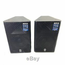 Yamaha DXR15 Active Powered 2-Way 15 Stage PA Speakers Pair inc Warranty