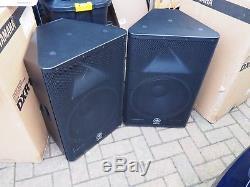 Yamaha DXR15 Powered speakers Pair