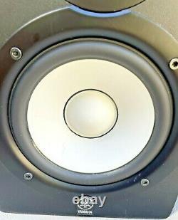 Yamaha HS50M Pair of Powered Studio Monitor Speakers READ DESCRIPTION