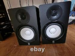 Yamaha HS50M Studio Monitor Speakers (Pair) with power cables