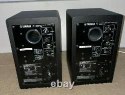Yamaha HS5W Series HS5W Powered Studio Monitor Speaker Pair Black