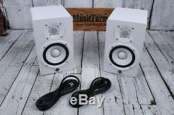 Yamaha HS5 Two Way Powered Studio Monitor PAIR OF TWO 70W Active Speakers White