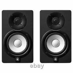Yamaha HS5 powered Studio Monitors Black pair