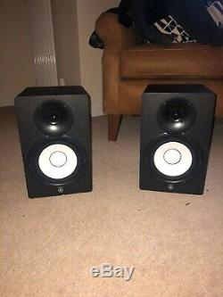 Yamaha HS7 Powered Studio Monitors Pair Excellent Condition 3 Month Old