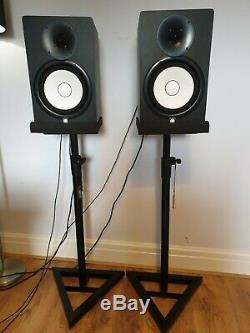 Yamaha HS8 Active Powered Studio Monitors Pair Black Boxed VGC