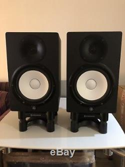 Yamaha HS8 Active Powered Studio Monitors (Pair) with bonus IsoAcoustic Stands