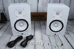 Yamaha HS8 PAIR OF TWO 120W Bi Amp 2 Way Powered Studio Monitor Active Speaker