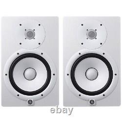 Yamaha HS8 Powered Studio Monitors Pair White