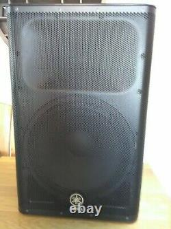 Yamaha dxr 15 powers speakers a pair and pro covers